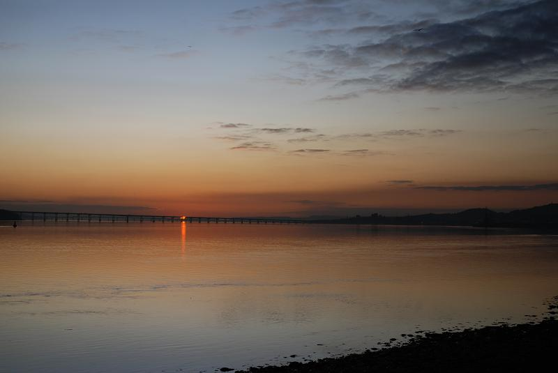 Broughty Ferry - noctilucent clouds 1