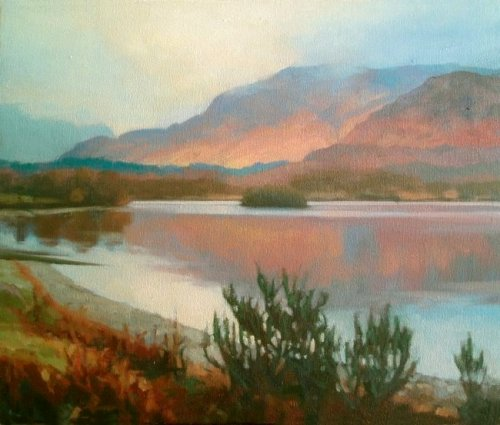 Landscape painting Commissions  - Lochearn