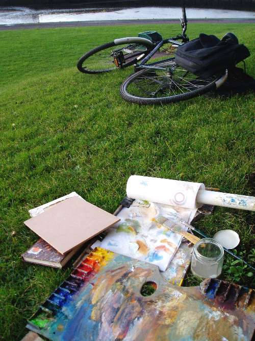 Outdoor Painting Methods - Equipment