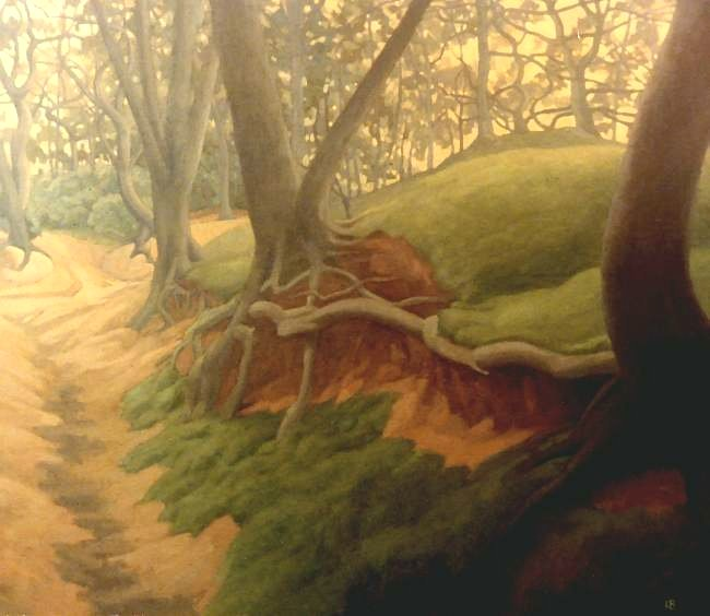 Landscape Art, Oil Painting, Pilgrims Way