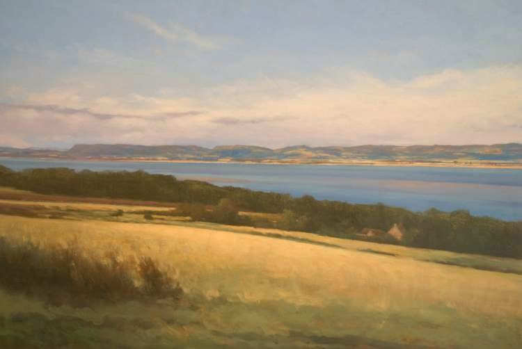 Thornton Farm, Balmerino, Fife - Oil Painting Commission