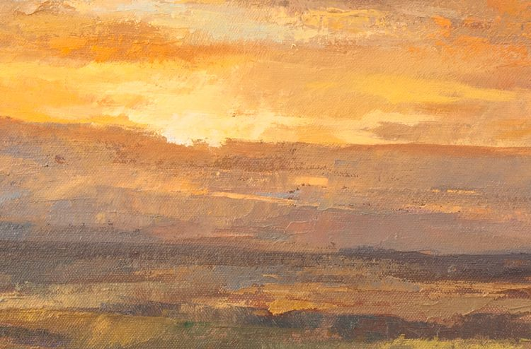 View of a Sunset - detail
