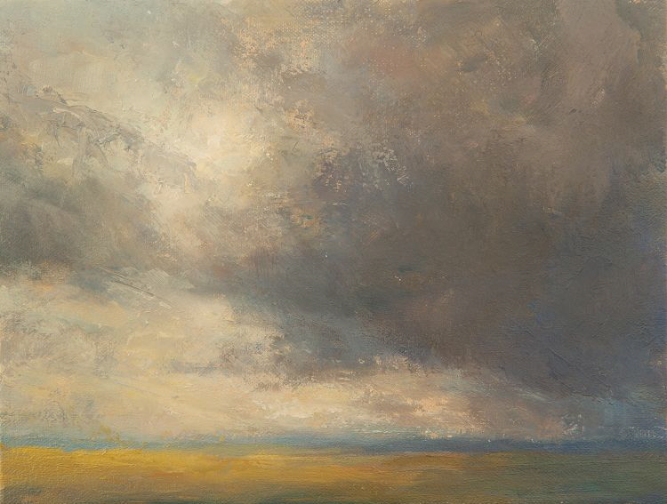Oil study of active cloud
